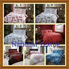 Duvet  Quilt Cover + Pillow Cases or With sheet or Curtains or Full set