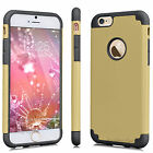 "Luxury Shockproof Rugged Rubber Hard Case Cover For 4.7"" 5.5"" Plus iPhone 6 / 6S"