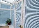 PLEATED CONSERVATORY WINDOW BLINDS (EZ FIT CLIP IN / NO FRAME / NO DRILLING)