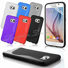 For Samsung Galaxy S6 G9200 TPU Gel S-Style Soft Case Cover Free Screen Film UK