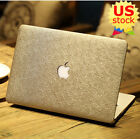 "Silk Leather Coated Golden Hard Case Cover For MacBook Pro 13"" Air 11""/13""inch"