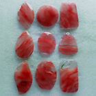Red Cherry Quartz Mixed Shape Pendant Beads Z151207001 (Received As Picture)