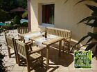 Cortina Garden Furniture Set, High Quality Wood, Durable And Elegant