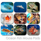 OCEAN EXOTIC FISH CUSTOM MOUSE PAD PERSONALIZED PHOTO FAMILY MOUSEPAD  (FM-02)