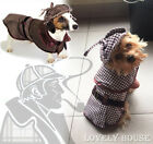 StoreInventorypet costumes dog cat sherlock hound outfit clothes clothing xmas fancy dress up