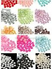 1000Pcs Half  Flat Back Bead Pearl Scrapbooking Embellishment Craft 15Colors