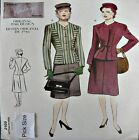 Vogue Sewing Pattern 2199 40s Vintage Model War Yrs Suit Skirt Jacket Pick Size
