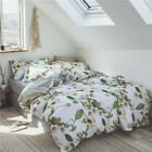 NEW Off-White 100%Cotton Quilt/Doona Cover Set - SINGLE/DOUBLE/QUEEN/KING Size