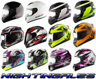 LS2 FF352 FULL FACE MOTORCYCLE  HELMET FAN WOLF ROOKIE ONE IRIS X-RAY SOLID
