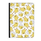 "Baby Chick Duckling Animal Kids Universal Tablet 9-10.1"" Leather Flip Case Cover"