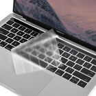 Clear Glossy Crystal Hard Case Keyboard Cove For Macbook Pro Air Retina 11 13 15