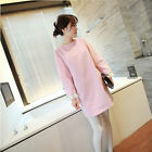 Fashion Style Ladies Loose Woolen Shirt Large size Thin Woolen Dress Warm Hot