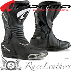 FORMA HORNET BLACK COLOURED MOTORCYCLE MOTORBIKE BIKE SPORTS RACE BOOTS