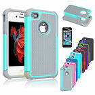 Armor Shockproof Rugged Rubber Pc Phone Case Cover Skin For Apple Iphone 5 5s Se