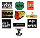 # THE BEATLES / JOHN LENNON - OFFICIAL LOGO SEW-ON PATCH patches