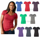 womens triblend scoop t shirt s m