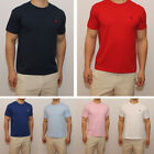 New Polo Ralph Lauren Men Crew Neck Tee Shirt Standard Fit Short Sleeve