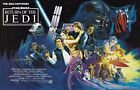 star wars episode 6 the return of the jedi - STAR WARS RETURN OF THE JEDI Episode VI 6 Movie Poster Empire Strikes Back