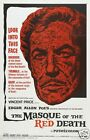 THE MASQUE OF RED DEATH Movie Poster Horror
