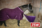 CLASSIC'S Own STABLE HAY FEEDER HAYHOLDER Corner Feeder hay bar - PURPLE CL367