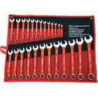 25pc Spanner Set Combination Metric Combo 6mm-32mm Garage Tool