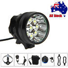 25000Lm 9x XML T6 LED Head MTB Bicycle Lamp Bike Light  Torch Headband 20000mAh