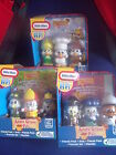 BNIB Little Tikes - Apple Grove Pals - 3 Character Set & Book - 3 Sets to Choose