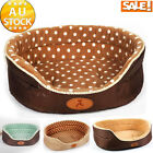 Winter Soft Warm Dog Puppy Cat Pet Bed House Teddy Large Basket