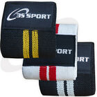 Weight Lifting Wrist Support Elasticated Cotton Bandage Fitness Gym Workout 2X