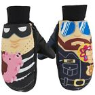 BRAND NEW W/ TAGS Neff CHARACTER MITT GLOVES COPS & ROBBER MEDIUM-XLARGE LIMITED