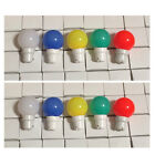 Mixed Colour Festoon Light Bulbs