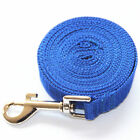 6 /15 /20 /30 /50 /100 FT Dog Leash Long Obedience Recall Foot Feet Training Lead New