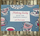 Mother's Day Mum Personalised Party Paper Placemats Teacups Various Quantities