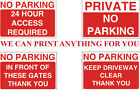 A1 NO PARKING DO NOT PARK SAFETY SIGN PRINTED ON RIGID FOAMEX BOARD A1 SIZE