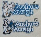 DISNEY CRUISE ANCHORS AWEIGH -CHOICE Die Cut Title Scrapbook Paper Piece SSFFDeb