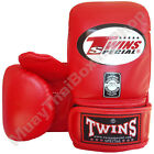 Twins Special Muay Thai Training Bag Gloves TBGL-3F Red Size M-L