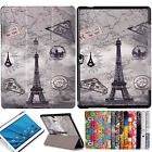 "Slim Patterned Leather Case Cover for 10.1"" Huawei MediaPad M2 10.0 A01W Tablet"
