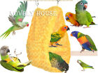 Bird Parrot Two-double Hammock Cave Cage Toy Plush Training Toys Small Animals