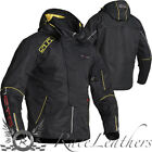 LINDSTRANDS CASE LAMINATED WATERPROOF & VENTED MOTORCYCLE JACKET REMOVABLE HOOD