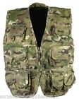 KIDS ARMY VEST RIPSTOP COTTON MTP BTP WAISTCOAT BOYS AGE 3-13 FANCY DRESS CAMO