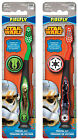 Licensed Star Wars Kids Soft Toothbrush Travel Cap Suction Cup Stand Official $8.6 AUD
