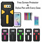 New Shock Proof Armour Hybrid Silicone Stylish Case Cover For Samsung Galaxy S7