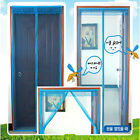 Door Exit Anti Mosquito Bug Magnet Auto Closing Curtain Mesh Net Screen Tent Bar