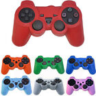 Silicone Rubber Gel Skin Grip Cover Soft Case for PlayStation 3 PS3 Controller