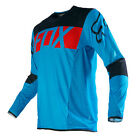 Fox 16 Flexair Jersey Blue Black MX Motocross Sport Off Road Dirt Bike