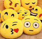 Emoji Pillow Yellow Round Cushion Soft Emoticon Stuffed Plush Toy Doll Poop 13""