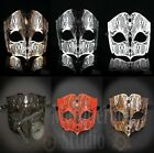 Mens Simplistic Filigree Light Metal Mardi Gras Venetian Masquerade Ball Mask