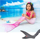 Dreamy Mermaid Tail with Monofin for Swimming fins Girls Swimsuit Really swim