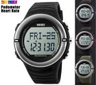 RELOJ  PODOMETRO PULSOMETRO SKMEI Watch Pedometer Heart Rate Monitor Calories #