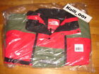 Supreme The North Face Steep Tech Jacket Olive Red Fleece S/S 16 Hooded Black C